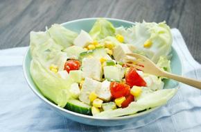 Muốn giảm cân mà vẫn đủ chất thì không thể bỏ qua món salad đậu hũ tuyệt hảo này