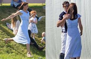 Không phải William, đây mới là người đàn ông đã khiến Kate vui vẻ chạy tới ôm hôn