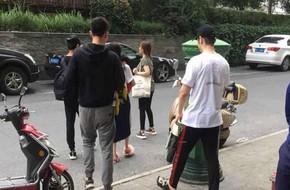 Huỳnh Hiểu Minh lại được khen nức nở khi đưa con đến thăm Angelababy ở phim trường