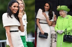 Diện đầm Givenchy kín đáo, thanh lịch nhưng Công nương Meghan lại mất điểm bởi chi tiết này