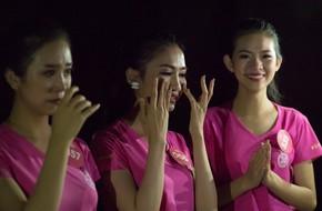 Thí sinh Hoa hậu Việt Nam 2018 òa khóc ngay sau buổi tập đầu tiên