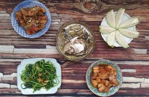Chỉ với 80 nghìn đồng đi chợ là có ngay thực đơn vừa ngon vừa nhiều món cho bữa tối