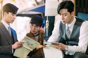 Chỉ đọc kịch bản thôi mà Park Seo Joon lại khiến fan điêu đứng vì quá đẹp trai