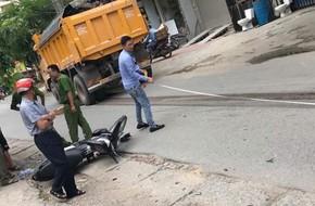 Hà Nội: Nam thanh niên tử vong sau khi bị xe tải cuốn vào gầm kéo lê hàng chục mét