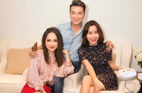Đàm Vĩnh Hưng đến chúc mừng Hoa hậu Hương Giang lấn sân lĩnh vực kinh doanh