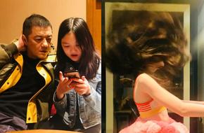 Vừa xuất hiện, con gái bị hở hàm ếch của Lý Á Bằng đã nhận được