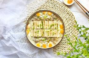 Đậu hũ hấp trứng thịt làm nhanh ăn ngon đổi vị cho bữa tối thêm hấp dẫn