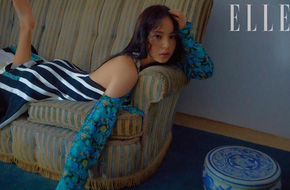 Chồng nhập ngũ, Min Hyo Rin lại gây thương nhớ bằng loạt ảnh khoe lưng trần sexy