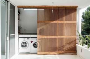 Xu hướng dùng thiết kế gỗ lưới cho nội thất trong nhà, đảm bảo đẹp không chê vào đâu được