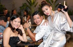 Diện váy xinh đẹp, Thanh Hằng nhiệt tình phục vụ chăm sóc vợ chồng Bình Minh