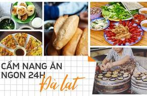 Cẩm nang ăn uống ngày 3 bữa no, ngon, giá cả hợp lý khi đến Đà Lạt