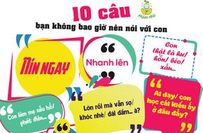 10 câu nói rất quen thuộc mà bố mẹ không bao giờ nên nói với con
