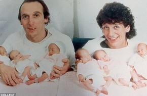 Sau 34 năm, 6 chị em trong ca sinh sáu toàn nữ đầu tiên trên thế giới đã trưởng thành, một trong số họ đã trở thành mẹ