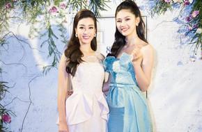 Hoa hậu Mỹ Linh sang trọng cuốn hút hội ngộ cùng Á hậu Thanh Tú