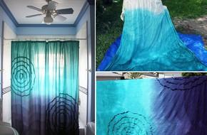 6 ý tưởng tự tay thiết kế rèm nhà tắm đáng để học tập