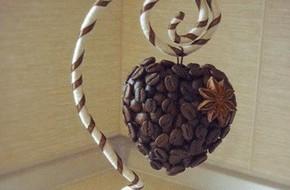 Biến hạt cà phê thành phiên bản trang trí nhà siêu đẹp mắt