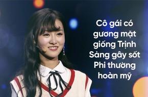 Cô gái có gương mặt giống Trịnh Sảng được Lý Tam Mộc tỏ tình nhưng lại từ chối