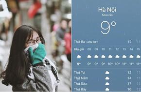 Hình ảnh được chia sẻ nhiều nhất ngày hôm nay: Bảng báo nhiệt độ tụt xuống số 9, Hà Nội lạnh teo 'như Bắc Cực'