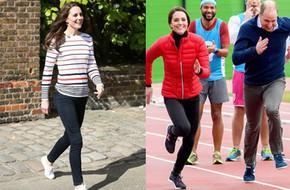 Diện đi diện lại mãi không chán, đây đích thị là những đôi sneaker được Công nương Kate yêu thích nhất