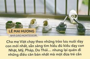 Những điều quan trọng nhất với mọi đứa trẻ nhưng ít cha mẹ Việt làm được