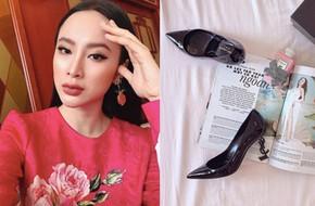 Angela Phương Trinh liệu có biết mình vừa sắm đôi giày giống cả Ngọc Trinh lẫn Kỳ Duyên