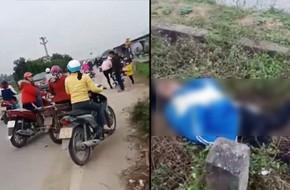 Hải Phòng: Xe bán tải hất văng 2 nữ sinh xuống ruộng tử vong tại chỗ, tài xế bỏ chạy