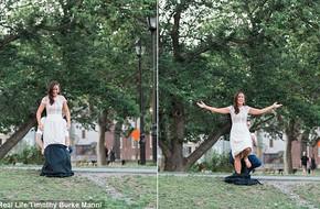 Mời bạn bè đến dự sinh nhật, cô gái cởi bỏ chiếc váy bên ngoài và diễn biến sau đó khiến ai cũng ngạc nhiên