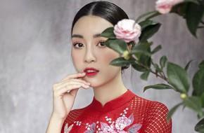 Hoa hậu Mỹ Linh đẹp thanh tao, đậm chất Á Đông trong bộ ảnh áo dài cách tân