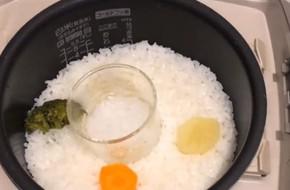 Cách nấu cháo 2 trong 1 vô cùng tiện lợi, bố mẹ có cơm, con có cháo chỉ trong 1 lần nấu