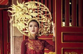 Á quân The Face - Tường Linh mang hình ảnh rồng đến Hoa hậu Liên lục địa