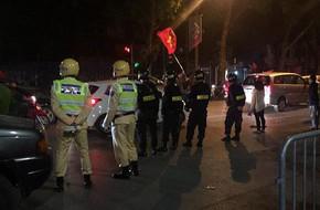 Cảnh sát trắng đêm chống đua xe sau trận thắng của U23 Việt Nam