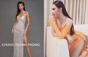 Mới đầu năm, Angela Phương Trinh và Minh Tú đã thiêu đốt thảm đỏ với những thiết kế đầm xẻ cao tít tắp