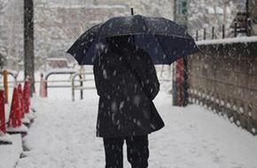 Tuyết phủ trắng Tokyo (Nhật Bản), gây tắc nghẽn giao thông