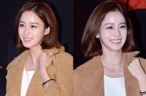 Kim Tae Hee tươi hơn hoa đi cổ vũ