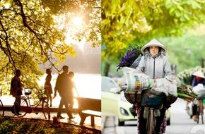 Chùm ảnh: Mùa thu - những ngày đẹp nhất của Hà Nội