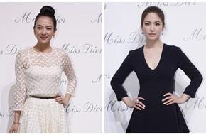 """Chương Tử Di trắng tinh khôi """"đối lập"""" Song Hye Kyo đen quyến rũ"""