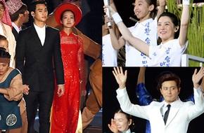 """Dàn sao khủng xứ Hàn """"bùng nổ"""" tại lễ khai mạc Asiad 17"""