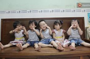 Những em bé trong ca sinh 5 đầu tiên tại Việt Nam hiện giờ ra sao?
