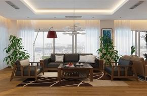 Tư vấn thiết kế và bố trí nội thất cho nhà phố có 6 phòng ngủ