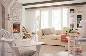 18 ý tưởng trang trí phòng khách hoàn hảo với màu kem và màu be