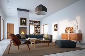 Tư vấn thiết kế cho căn hộ rộng 95m² có ban công xanh mát