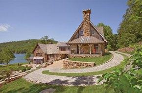 Đẹp ngỡ ngàng ngôi nhà mang phong cách rustic giữa thiên nhiên
