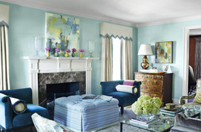 Những màu sắc chuẩn được dùng trong trang trí phòng khách