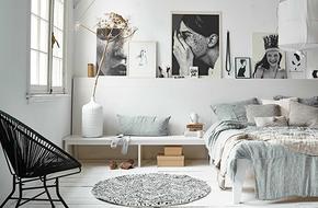 Tư vấn bố trí nội thất cho không gian phòng ngủ 9m²