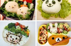 5 đồ dùng tiện ích đáng yêu giúp các mẹ làm cơm Bento cho bé cực dễ