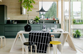Tư vấn thiết kế giải pháp lấy sáng cho gian bếp chỉ rộng 14m²