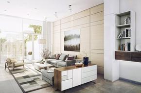 Tư vấn thiết kế nhà ống 1 tầng 72m² đơn giản, rộng rãi và thoáng mát
