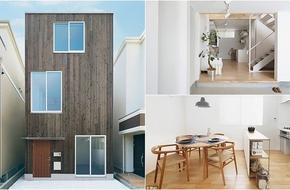 Khám phá vẻ đẹp độc đáo trong thiết kế của một căn nhà ống kiểu Nhật