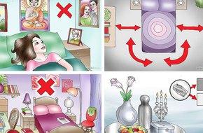 Nguyên tắc phong thủy nhất định phải biết nơi phòng ngủ