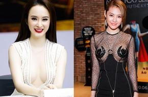 Loạt người đẹp Việt khoe vòng 1 táo bạo lọt top sao mặc xấu tháng 6